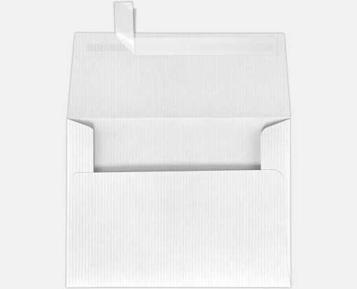 white groove a7 envelopes square flap 5 1 4 x 7 1 4