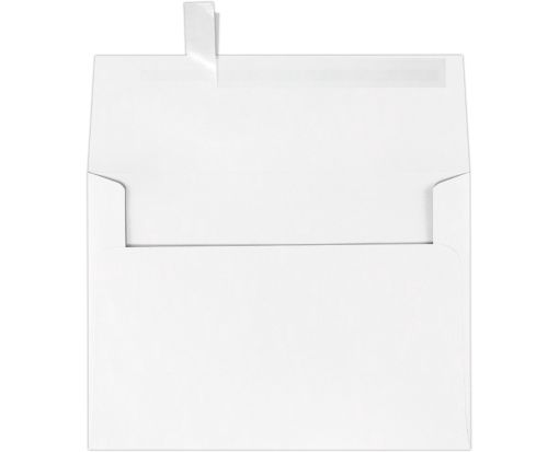 A7 Invitation Envelopes (5 1/4 x 7 1/4) 60lb. White w/Peel & Press™