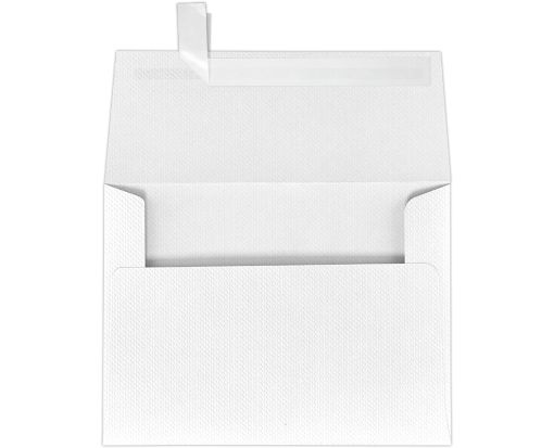 A7 Invitation Envelopes (5 1/4 x 7 1/4) White Pique