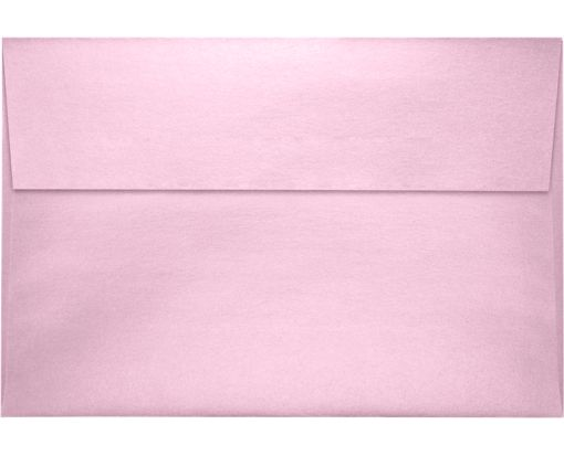 A8 Invitation Envelopes (5 1/2 x 8 1/8) Rose Quartz Metallic