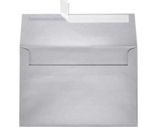 A8 Invitation Envelopes (5 1/2 x 8 1/8) Silver Metallic