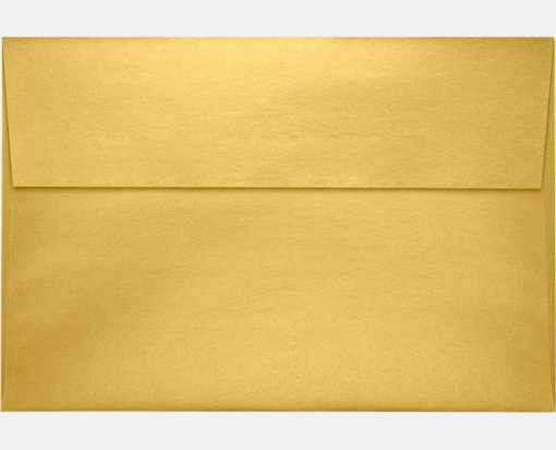 A8 Invitation Envelopes (5 1/2 x 8 1/8) Gold Metallic