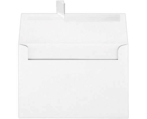 A8 Invitation Envelopes (5 1/2 x 8 1/8) 60lb. White w/Peel & Press™