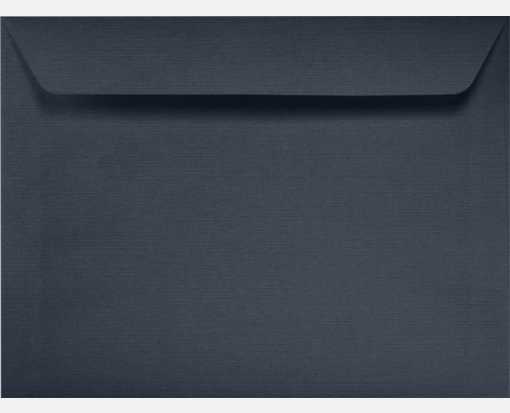 9 x 12 Booklet Envelopes Nautical Blue Linen