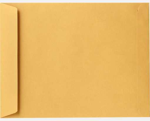 8 1/2 x 10 1/2 Open End Envelopes 28lb. Brown Kraft