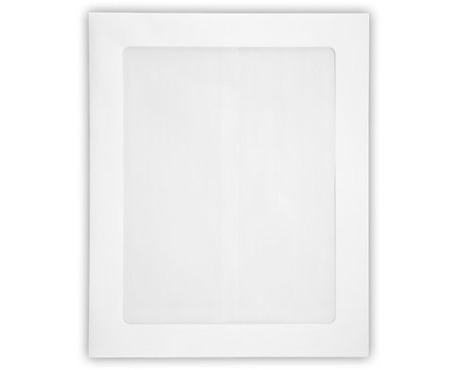 8 1/2 x 10 1/2 Head Shot Envelopes White