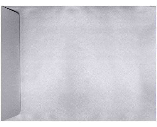 9 x 12 Open End Envelopes Silver Metallic