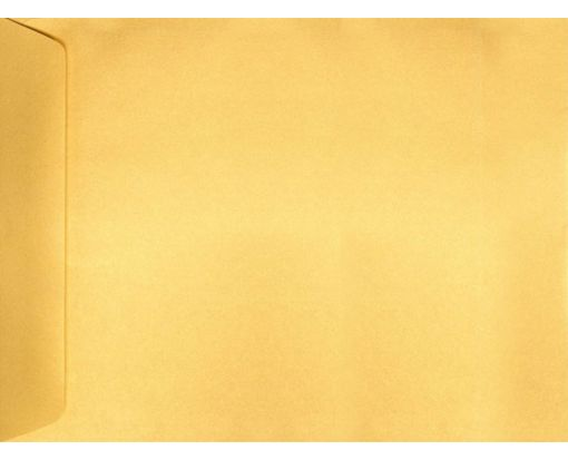 9 x 12 Open End Envelopes Gold Metallic