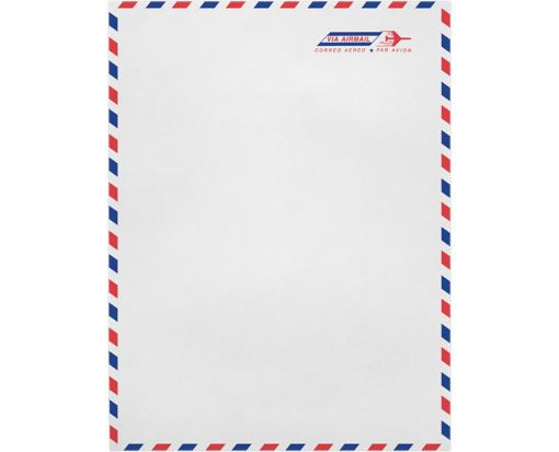 9 x 12 Open End Envelopes 24lb. Airmail