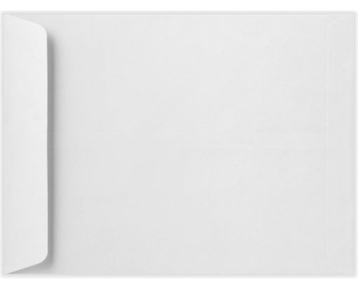 9 x 12 Open End Envelopes White Linen