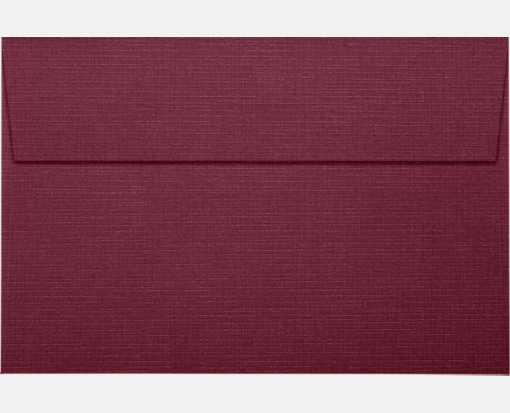 A9 Invitation Envelopes (5 3/4 x 8 3/4) Burgundy Linen