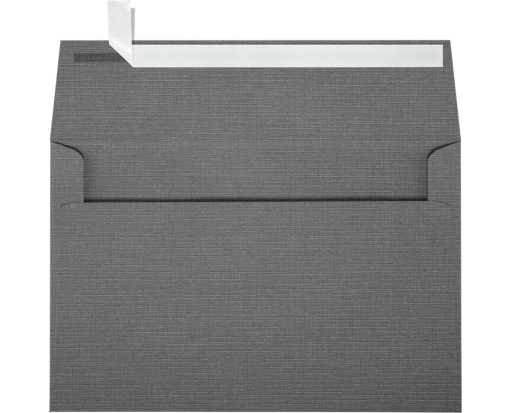 A9 Invitation Envelopes (5 3/4 x 8 3/4) Sterling Gray Linen