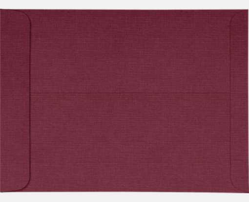10 x 13 Open End Envelopes Burgundy Linen