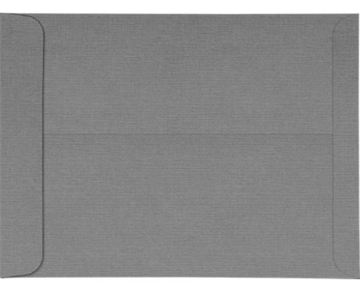 10 x 13 Open End Envelopes Sterling Gray Linen
