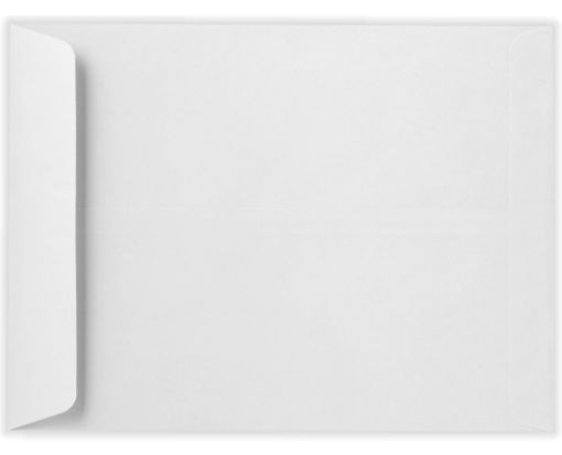10 x 13 Open End Envelopes White Linen