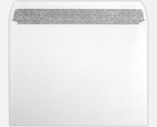 10 x 13 Booklet Envelopes 24lb. White w/ Sec. Tint