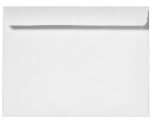 9 x 12 Booklet Envelopes 80lb. White, Inkjet