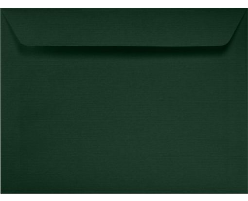 9 x 12 Booklet Envelopes Green Linen