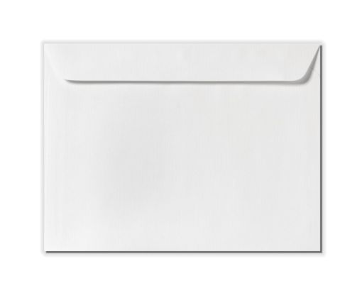 9 x 12 Booklet Envelopes White Linen