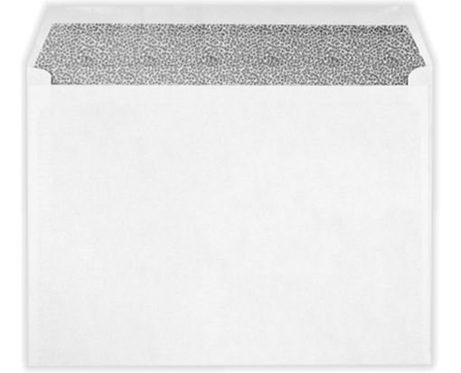 9 x 12 Booklet Envelopes White w/Security Tint