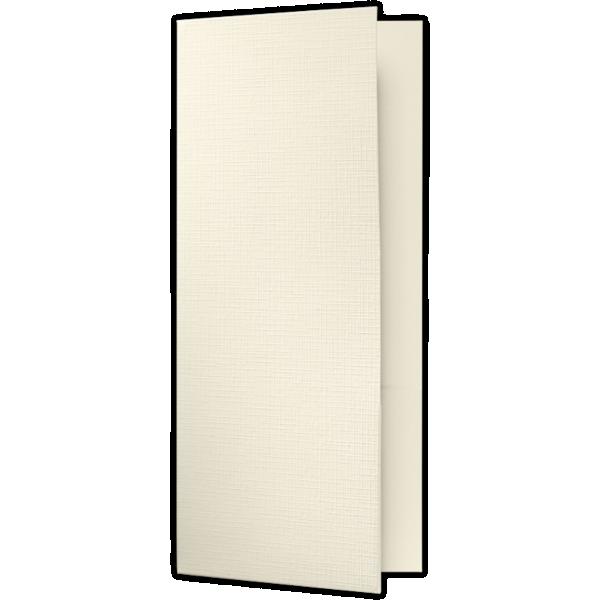 4 x 9 Pocket Folders Natural Linen