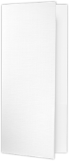 4 x 9 Pocket Folders White Linen