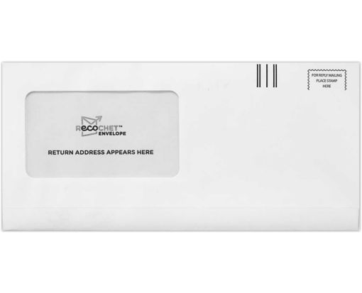 Two-Way Seal Window Envelopes (4 3/8 x 9 1/4) 24lb. Bright White