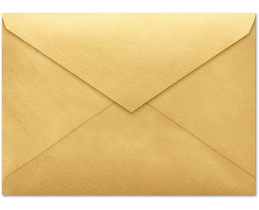 4 BAR Envelopes (3 5/8 x 5 1/8) Gold Metallic