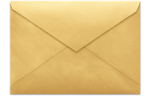 4 BAR Envelopes Gold Metallic