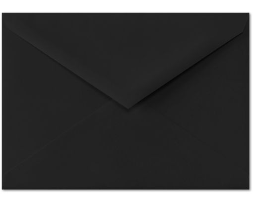 4 BAR Envelopes (3 5/8 x 5 1/8) Midnight Black