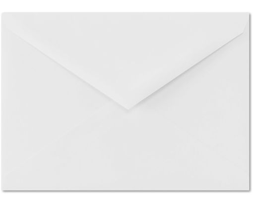 4 BAR Envelopes (3 5/8 x 5 1/8) 100% Cotton - Brilliant White