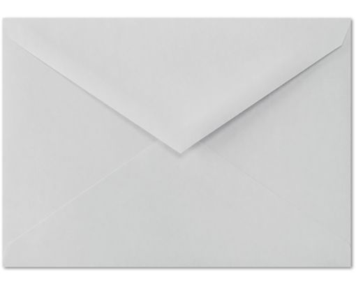 4 BAR Envelopes (3 5/8 x 5 1/8) 100% Cotton - Gray