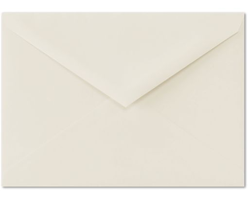 4 BAR Envelopes (3 5/8 x 5 1/8) 100% Cotton - Natural White