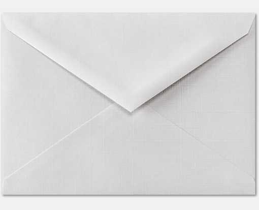 4 BAR Envelopes (3 5/8 x 5 1/8) White Linen