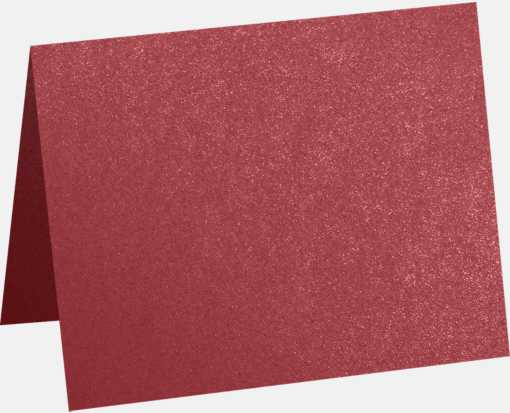 A1 Folded Card (3 1/2 x 4 7/8) Mars Metallic - Stardream®
