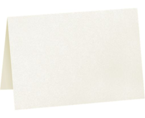 A1 Folded Card (3 1/2 x 4 7/8) - 105lb. Quartz Metallic Quartz Metallic