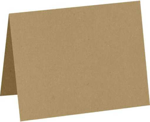 A2 Folded Card (4 1/4 x 5 1/2) 18pt. Grocery Bag