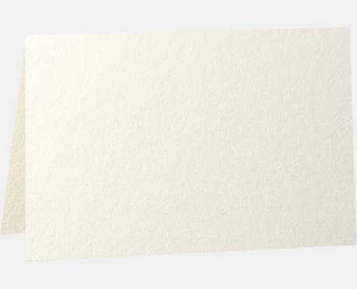 A2 Folded Card (4 1/4 x 5 1/2) - 105lb. Quartz Metallic Quartz Metallic