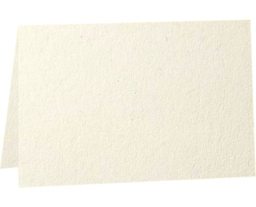 A2 Folded Card (4 1/4 x 5 1/2) - 80b. Natural - 100% Recycled Natural - 100% Recycled