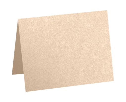 A6 Folded Card (4 5/8 x 6 1/4) Coral Metallic - Stardream®