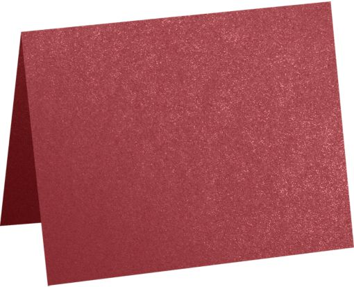 A6 Folded Card (4 5/8 x 6 1/4) Mars Metallic - Stardream®