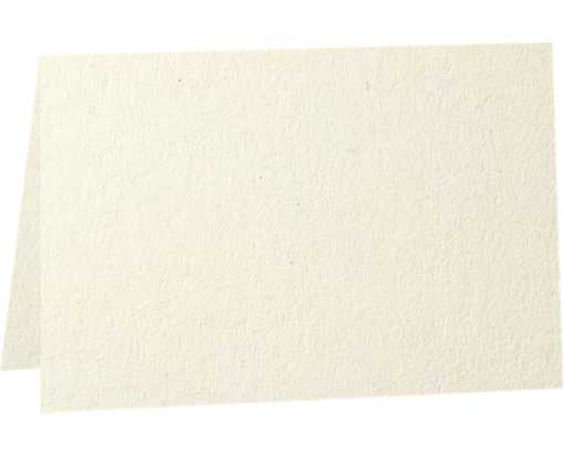A6 Folded Card (4 5/8 x 6 1/4) - 80b. Natural - 100% Recycled Natural - 100% Recycled