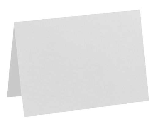 A7 Folded Card (5 1/8 x 7) 100% Cotton - Gray