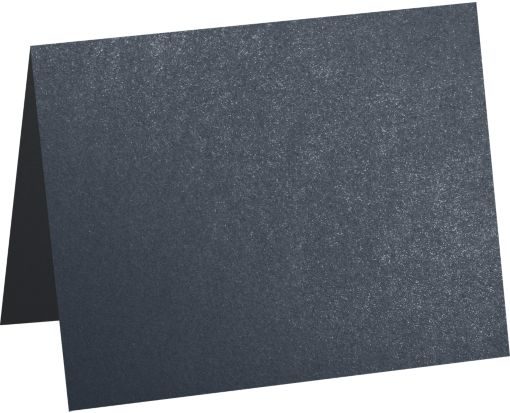 A9 Folded Card (5 1/2 x 8 1/2) Dorian Gray Metallic - Cocktail®