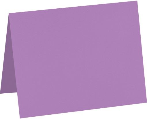 A9 Folded Card (5 1/2 x 8 1/2) Bright Violet
