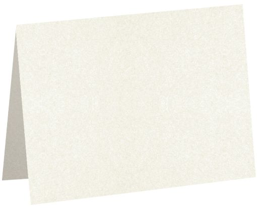 #17 Mini Folded Card (2 9/16 x 3 9/16) Quartz Metallic