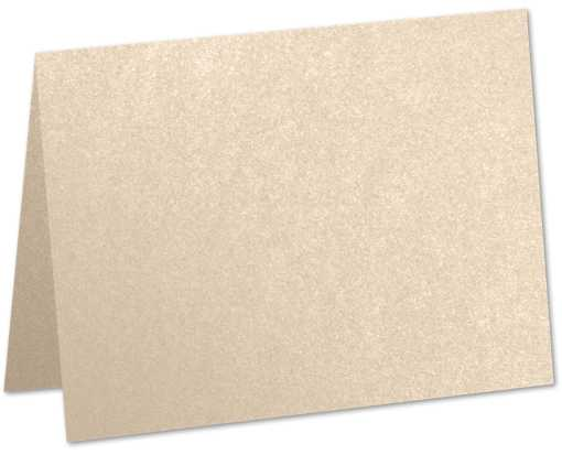 #17 Mini Folded (2 9/16 x 3 9/16) Taupe Metallic
