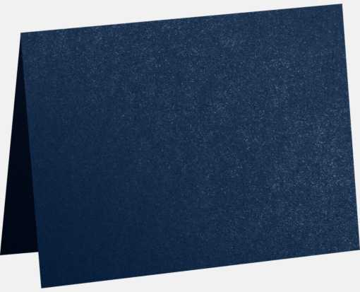 #17 Mini Folded Card (2 9/16 x 3 9/16) Lapis Metallic - Stardream®