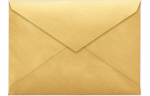 5 1/2 BAR Envelopes Gold Metallic