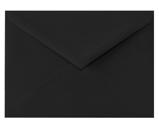 5 1/2 BAR Envelopes (4 3/8 x 5 3/4) Midnight Black